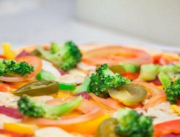 9 Iron with Veggie Pizza