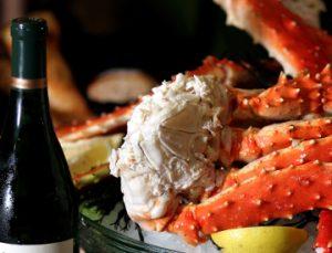 Enjoy 9 Iron Red with Alaskan King Crab